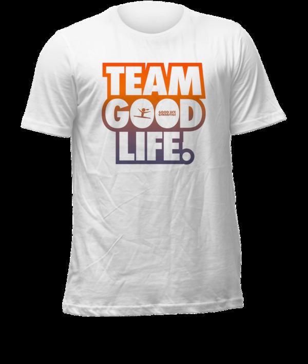 team good life gymnastics t-shirt